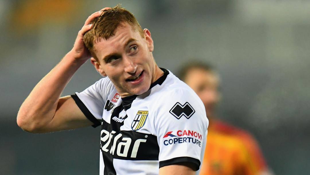 Dejan Kulusevski con la maglia del Parma. Getty