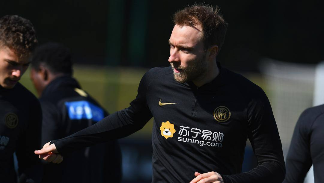 Christian Eriksen, 28 anni, all'Inter da gennaio GETTY