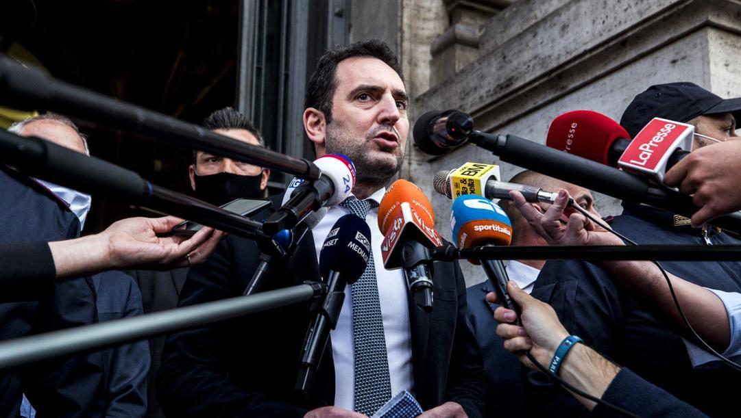 Il ministro Vincenzo Spadafora. Ansa