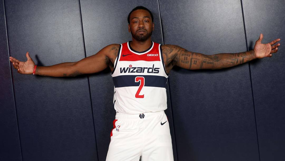 John Wall, 29 anni, è a Washington dal 2010, quando i Wizards lo chiamarono con la prima scelta assoluta al draft. Ap