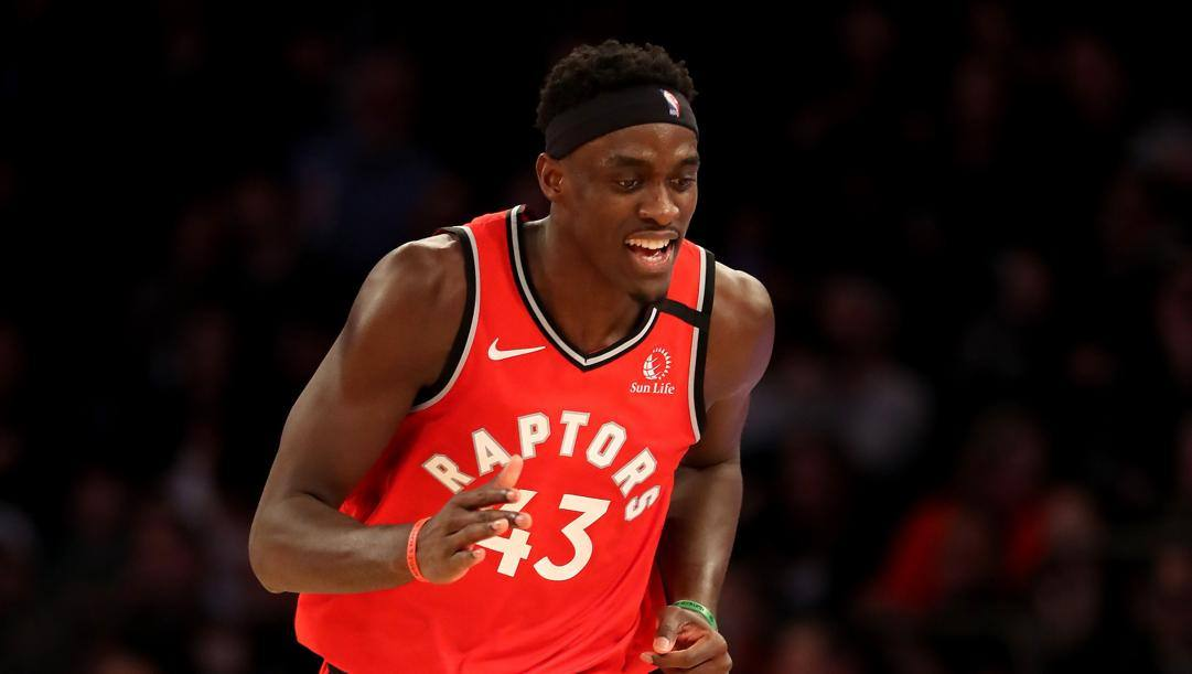 Pascal SIakam, 26 anni, Most Improved Player del 2018-19. Afp