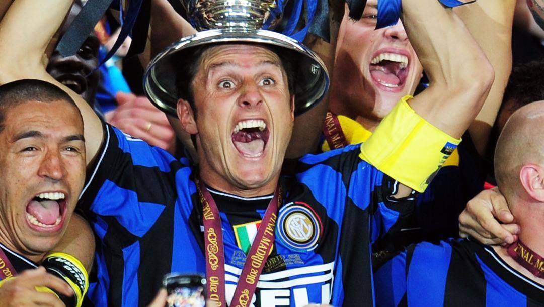 Javier Adelmar Zanetti, 46 anni, attualmente vicepresidente dell'Inter
