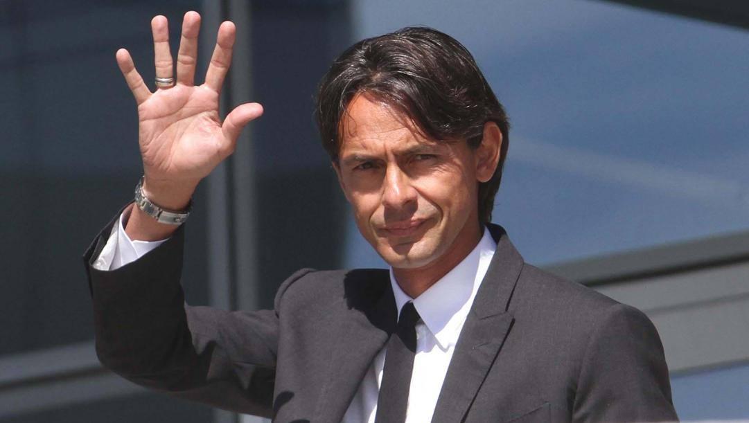 Pippo Inzaghi,  46 anni. Ansa