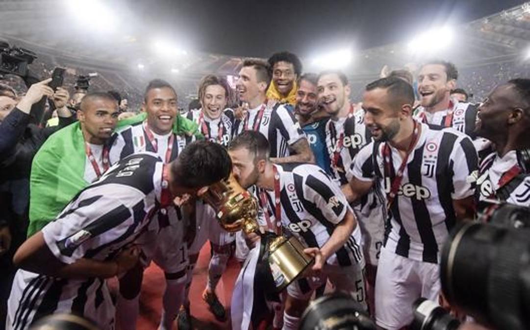 L'ultima Coppa Italia vinta dalla Juve nel 2018