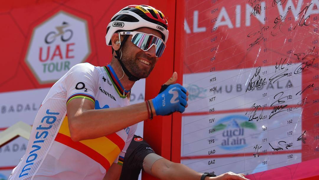 Alejandro Valverde, 40 anni compiuto il 25 aprile, 127 vittorie in carriera (Bettini)