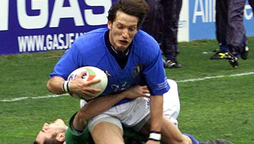 Corrado Pilat in azzurro. Gmt