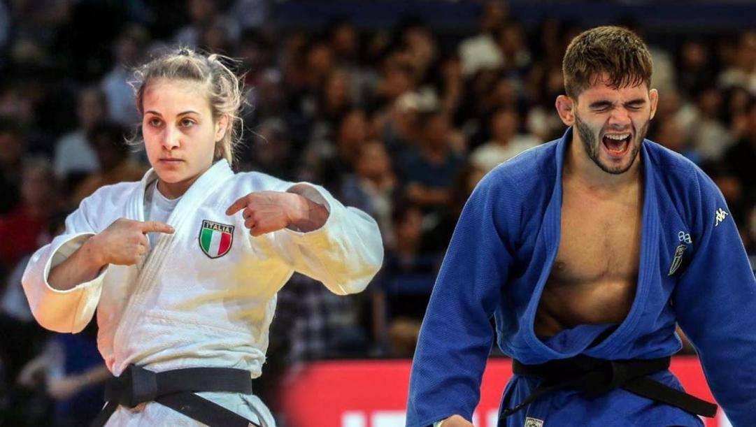 Odette Giuffrida e Manuel Lombardo, rispettivamente al quarto e al primo posto del ranking mondiale