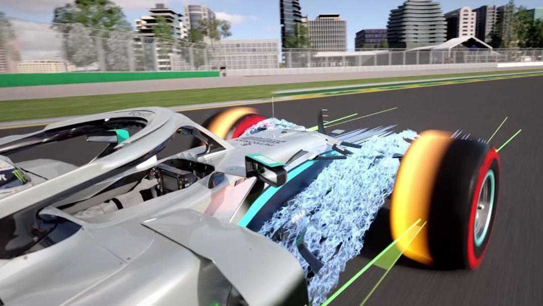 Il DAS consente ai piloti Mercedes di cambiare la convergenza delle ruote anteriori