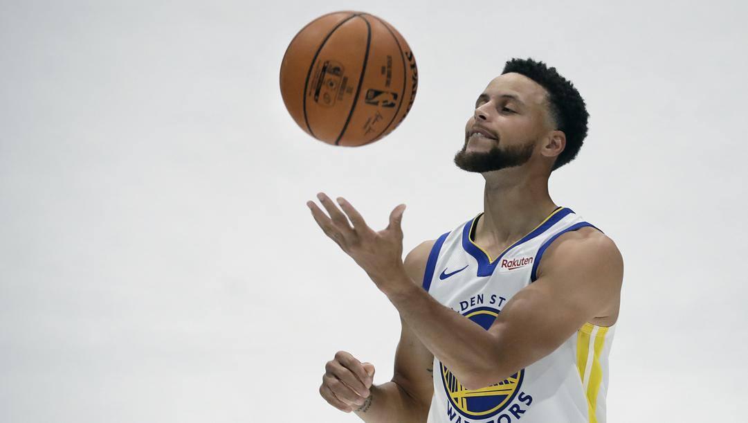 Steph Curry, 32 anni, ha giocato solo una partita nel 2020. Ap
