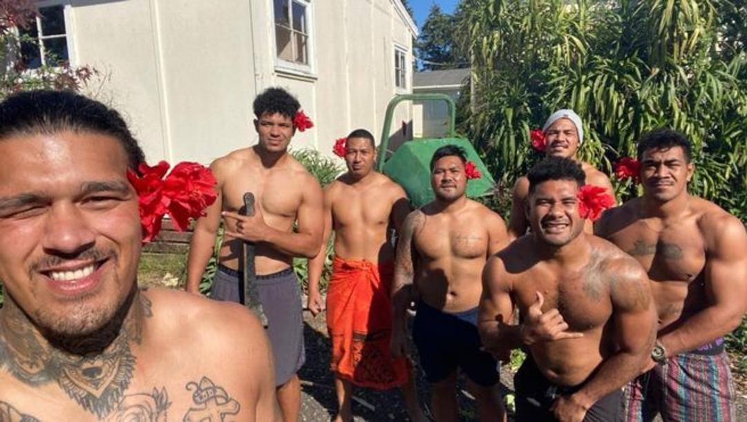 I samoani nel compound di Auckland