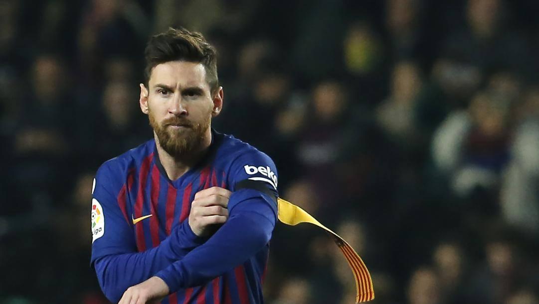 Leo Messi, 33 anni. Afp