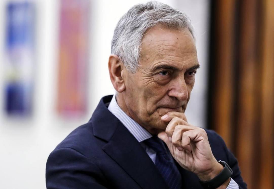 Gabriele Gravina, presidente Figc. Ansa
