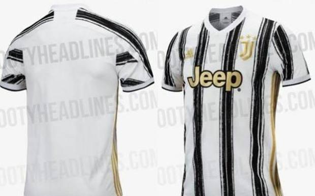La nuova maglia della Juventus.