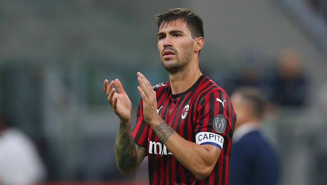 Alessio Romagnoli, 24 anni, al Milan dal 2015. LaPresse
