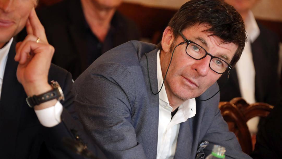 Gianni Bugno, 56 anni. Bettini