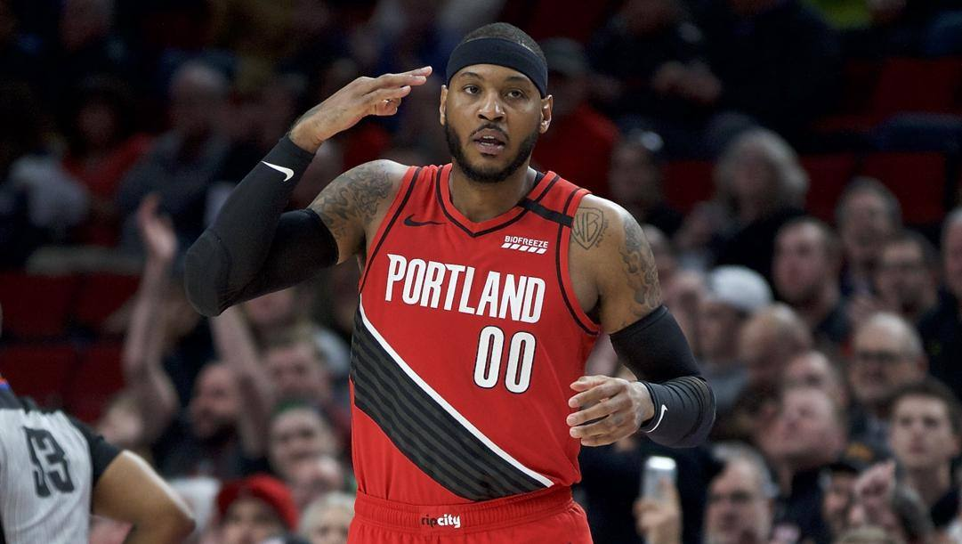 Carmelo Anthony, 36 anni. Ap