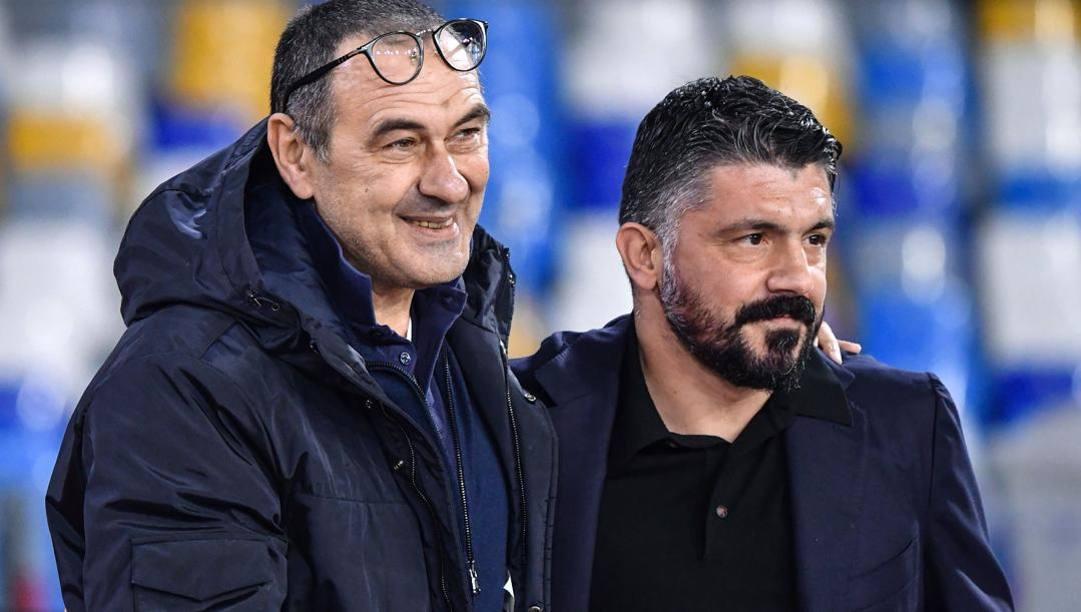 Sarri e Gattuso