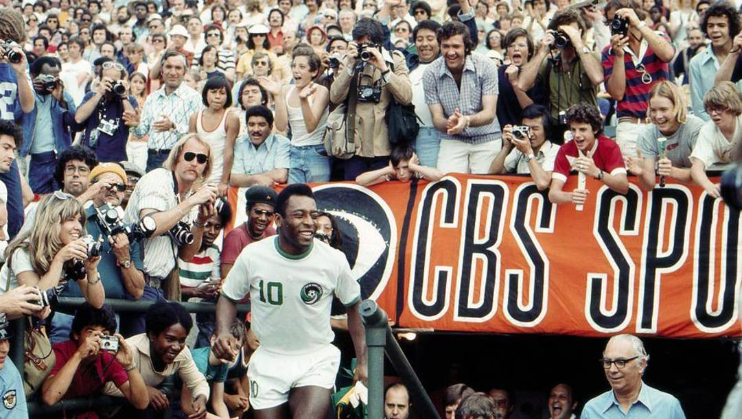 Pelé nello stadio dei Cosmos. Mexsport