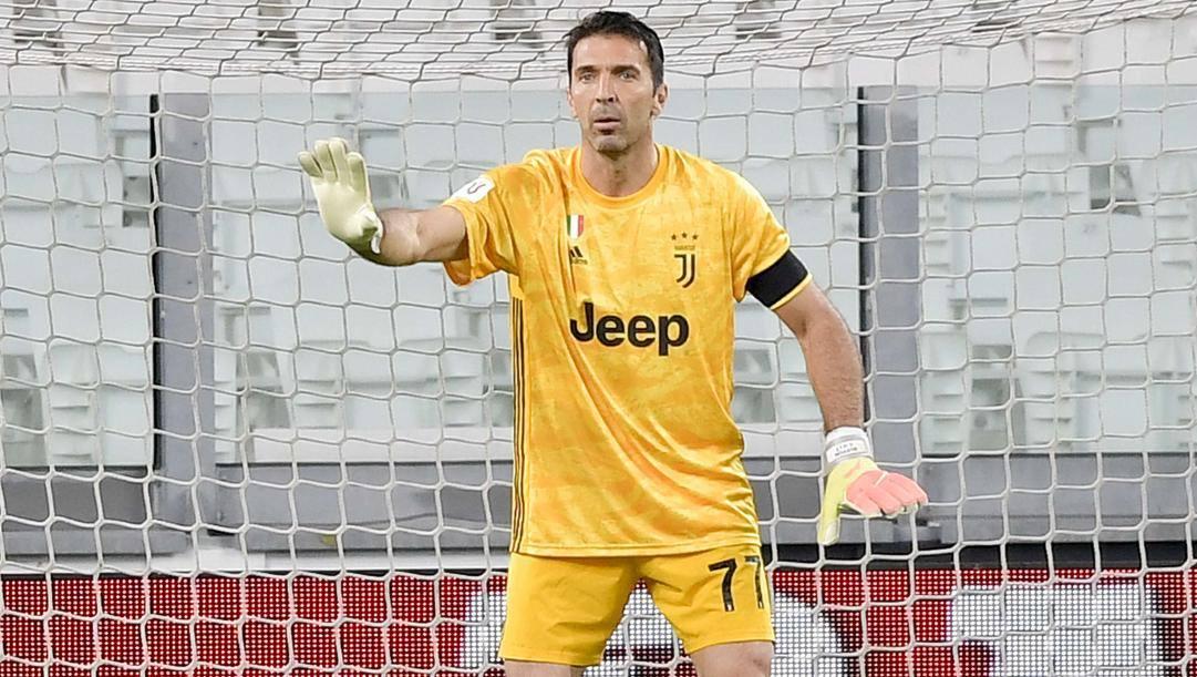 Gigi Buffon. Getty