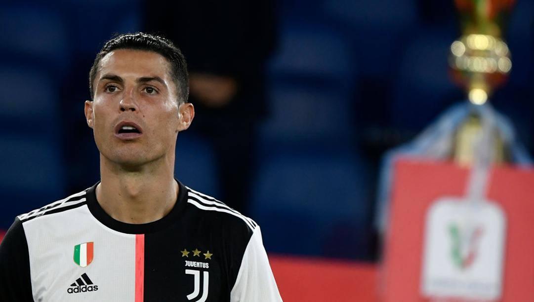 Coppa Italia ancora tabù per CR7. Afp