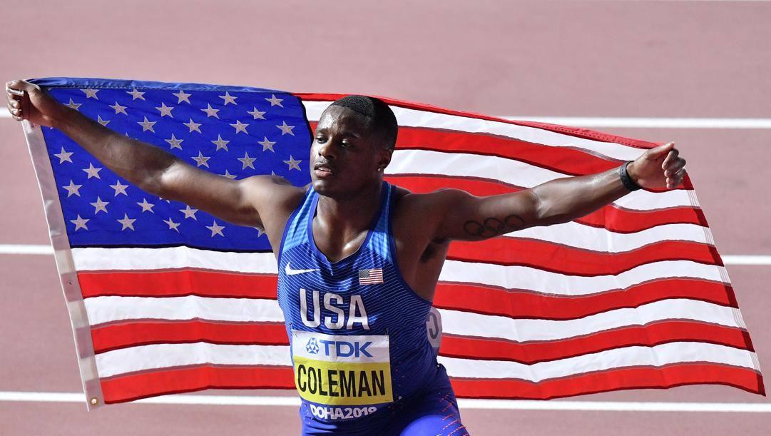 Christian Coleman, 24 anni. Ap