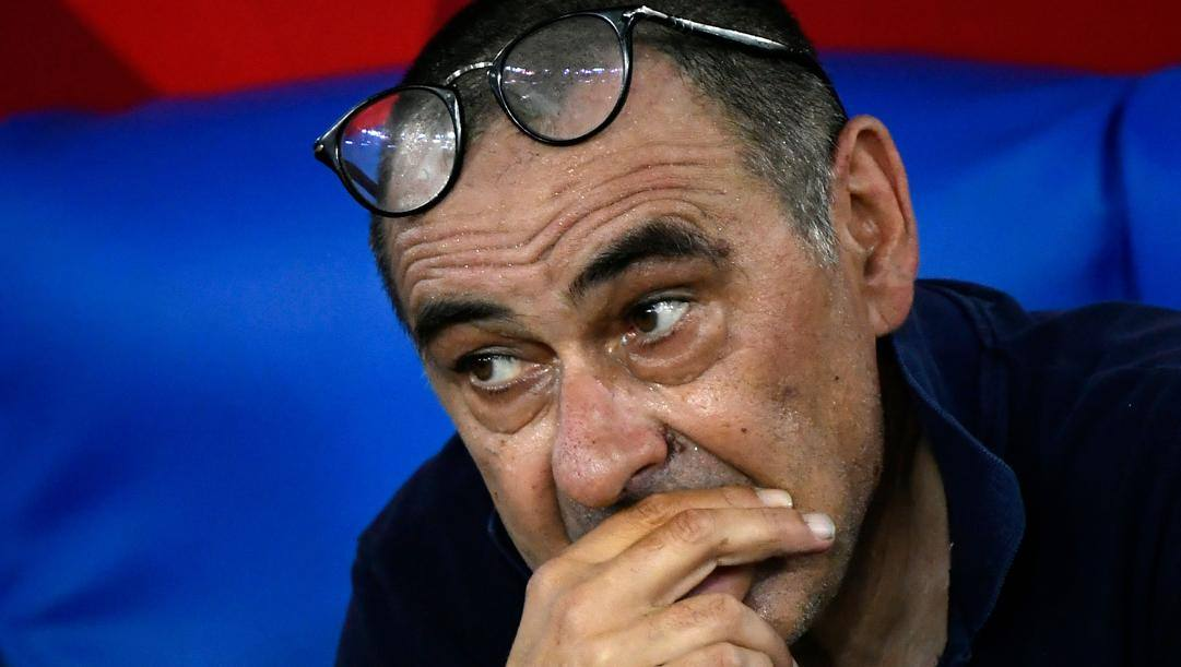 Maurizio Sarri, 61 anni.