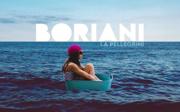 """La copertina del disco di Boriani """"La Pellegrini"""""""