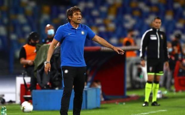Antonio Conte a Napoli. GETTY