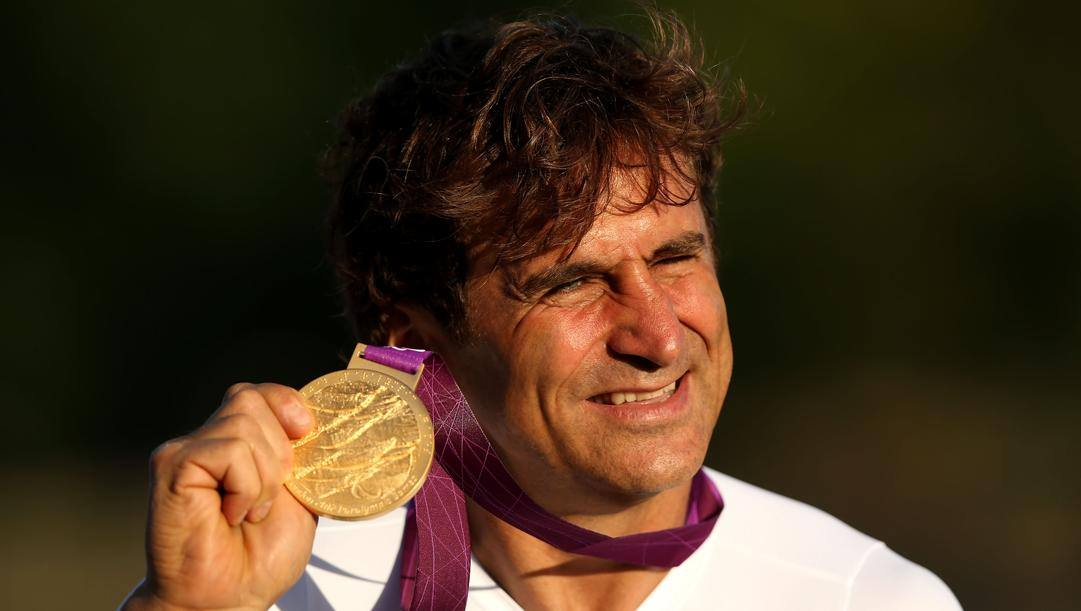 Alex Zanardi. Getty