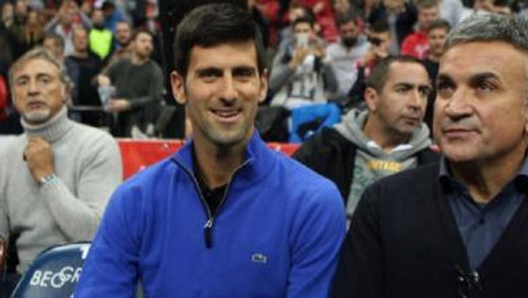 Djokovic con il padre