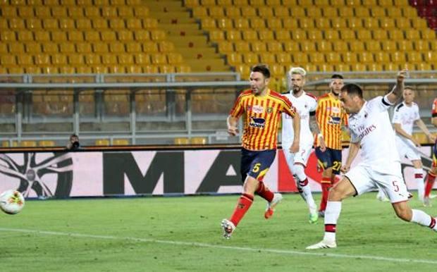 Il gol del 2-1 di Bonaventura. Getty Images