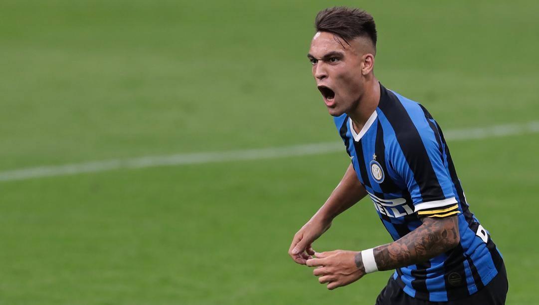 Lautaro Martinez, 22 anni, attaccante dell'Inter. Getty Images
