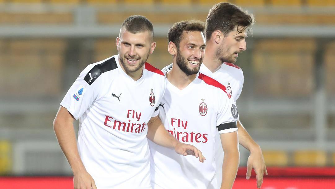 Milan, Ibrahimovic in campo per tutto l'allenamento con i compagni