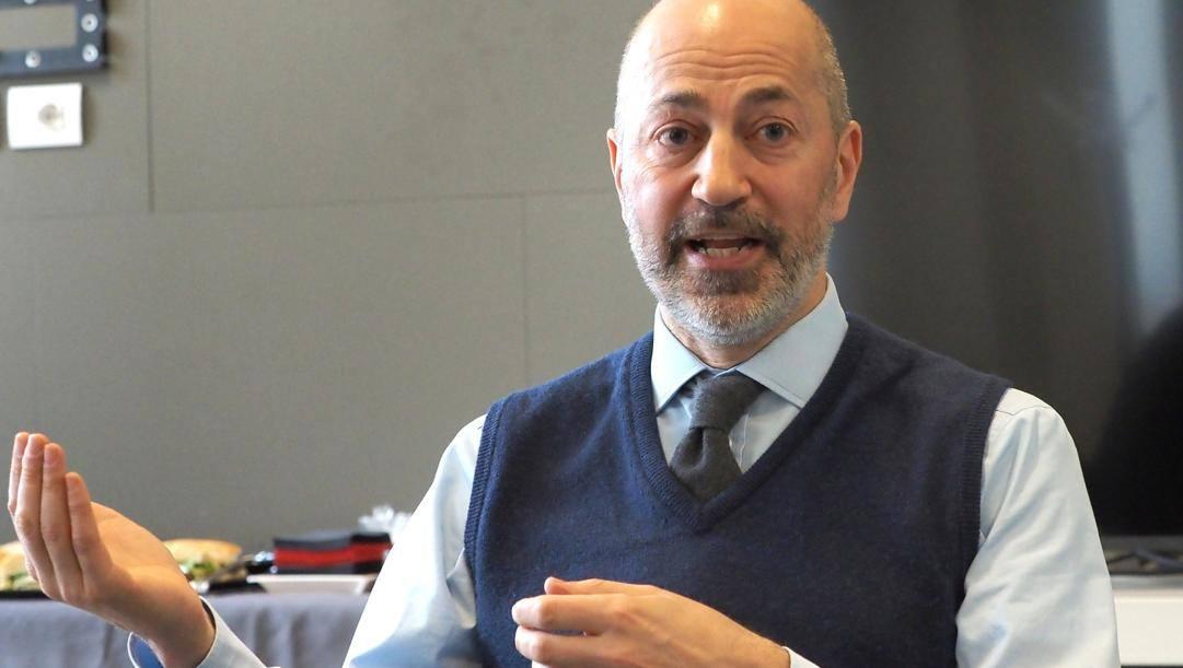 Ivan Gazidis, a.d del Milan. Bozzani
