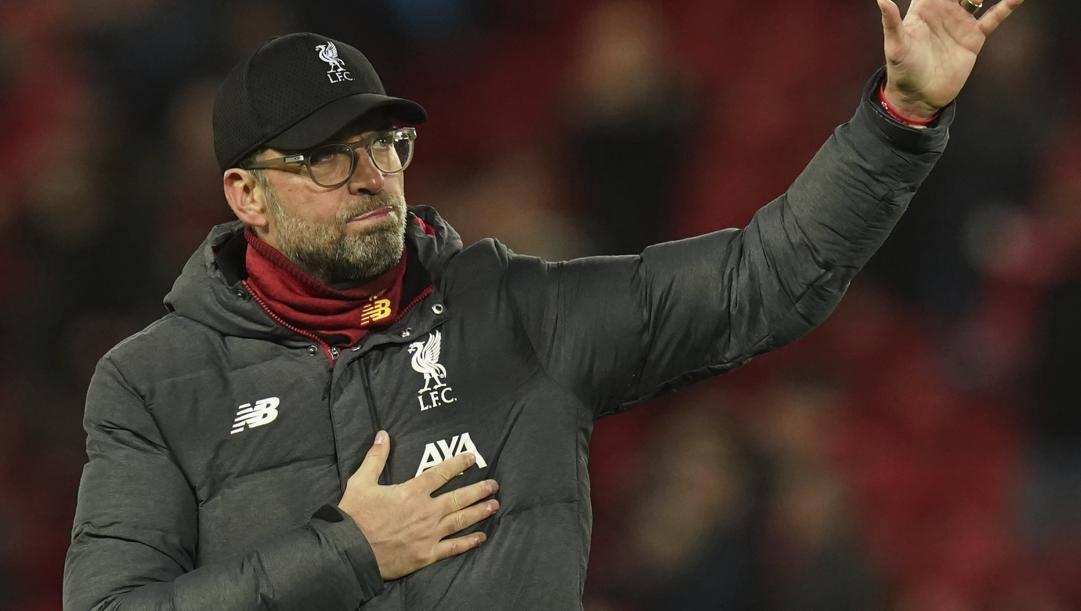 Jurgen Klopp, tecnico del Liverpool. Ap