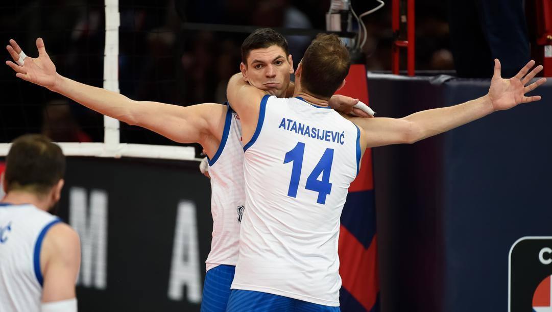Marko Podrascanin, 32 anni, e Aleksandar Atanasijevic, 28. Cev.eu
