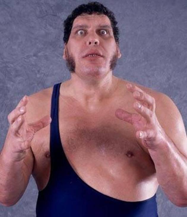 """André René Roussimoff, famoso con il ring name di """"André The Giant"""", morì nel sonno il 27 gennaio 1993, a 47 anni, stroncato da un arresto cardiaco in un hotel di Parigi."""