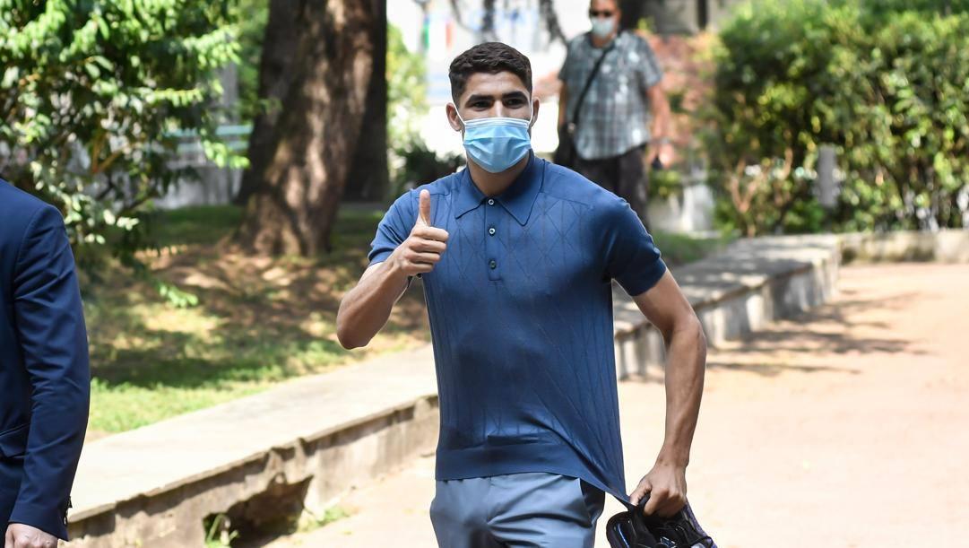 UFFICIALE Inter: Hakimi ha firmato un quinquennale