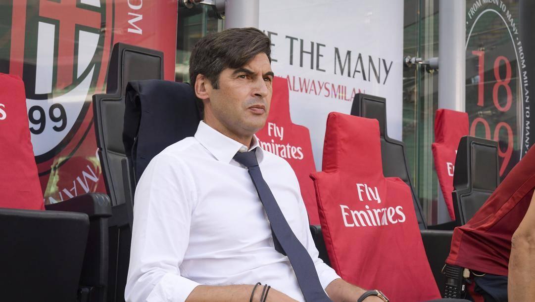 Paulo Fonseca, 47 anni, tecnico della Roma. Lapresse