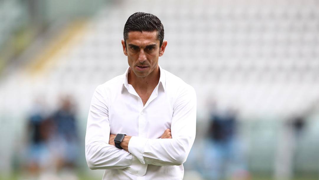 Moreno Longo, 44 anni, è l'allenatore del Torino dal 4 febbraio. Afp