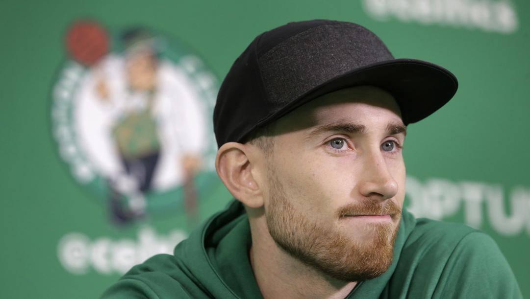 Gordon Hayward, 30 anni, ala dei Celtics. Ap