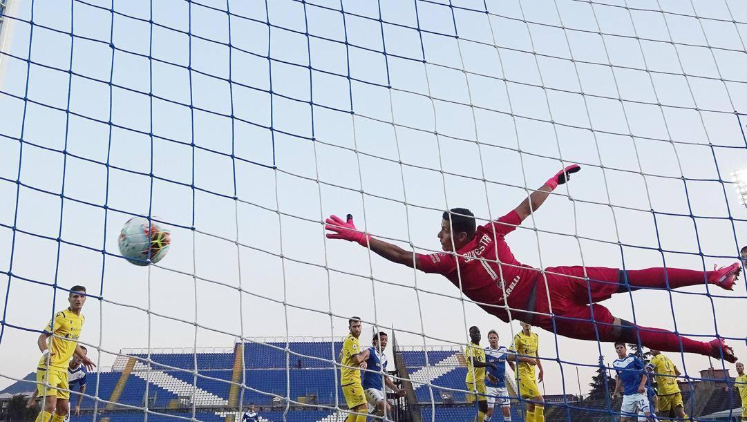 Il gol di Andrea Papetti. Ansa