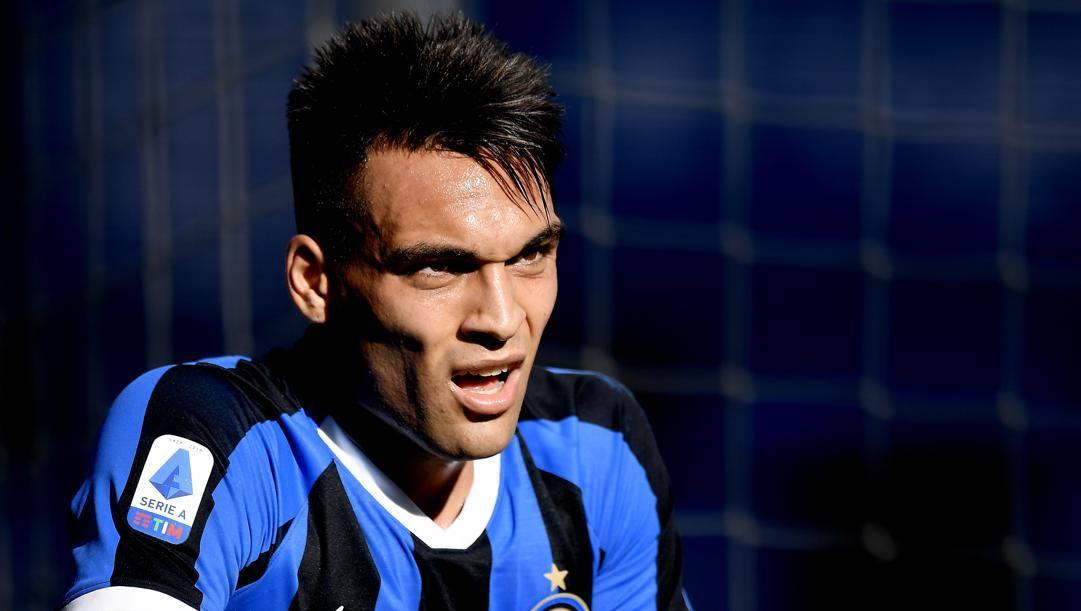 Lautaro Javier Martínez, 22 anni, attaccante argentino dell'Inter. LaPresse