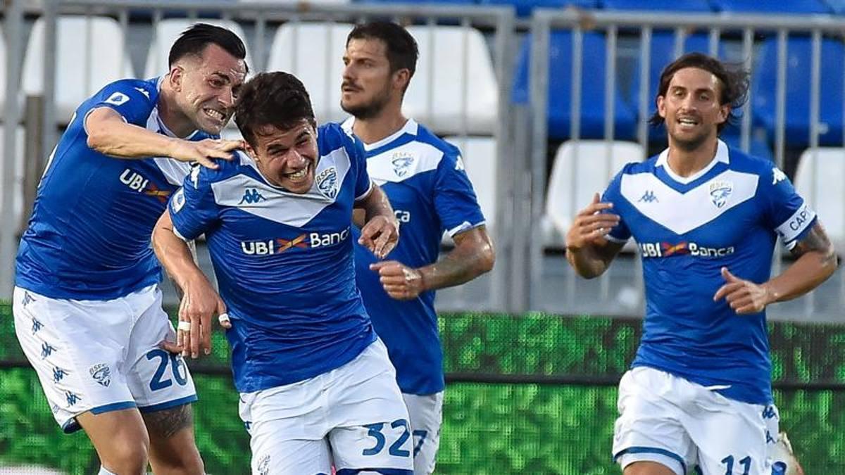 Il Brescia ci crede ancora: 2-0 al Verona. Juric, lo stop allontana l ...