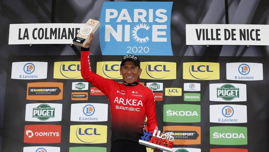 Nairo Quintana alla Parigi Nizza 2020