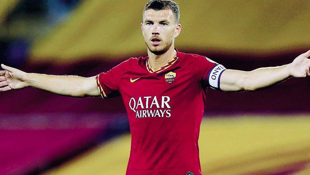 Edin Dzeko, 34 anni. Getty