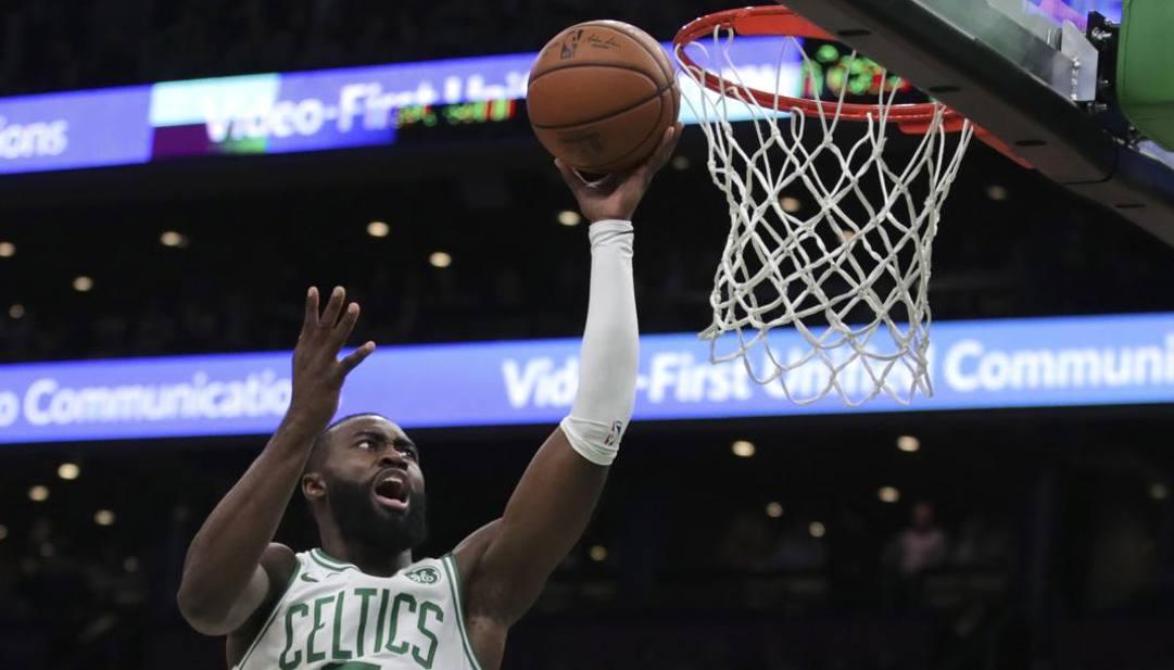 Jaylen Brown, 23 anni, guardia dei Boston Celtics. Lapresse