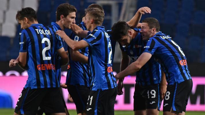 L'Atalanta dopo il lockdown ha vinto tutte le 5 gare segnando 13 gol. Ansa