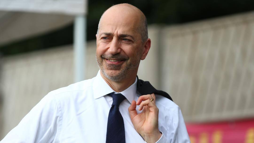 L'ad del Milan Ivan Gazidis. LaPresse
