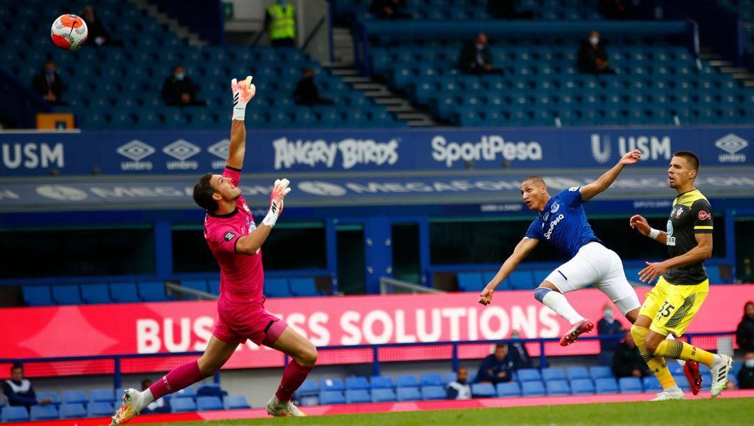 Il gol di Richarlison. Getty